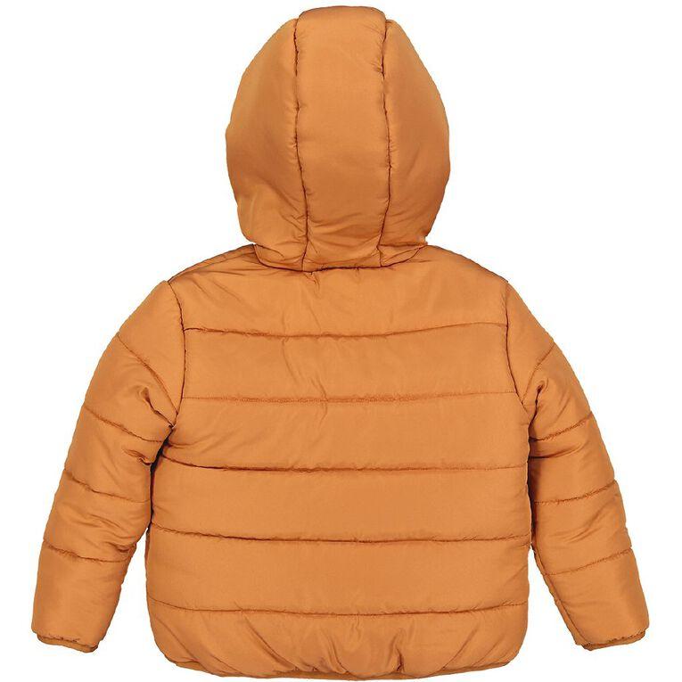 Young Original Toddler Puffer Jacket, Orange Mid, hi-res
