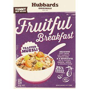 Hubbards Fruitful Breakfast 650g