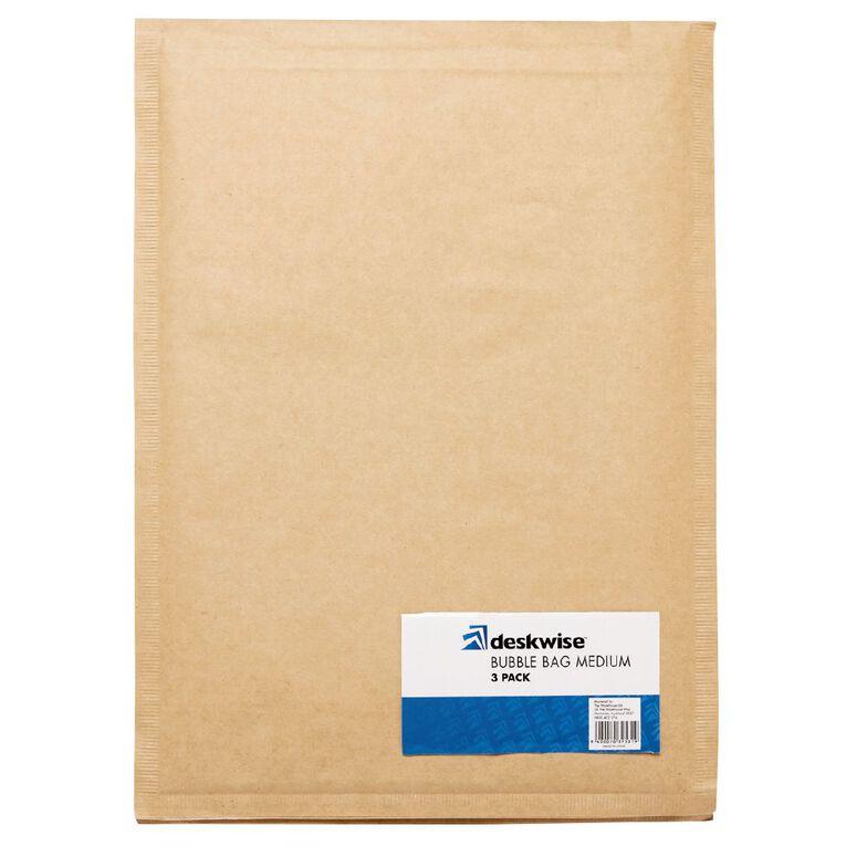 Deskwise Bubble Bag Medium 3 Pack, , hi-res