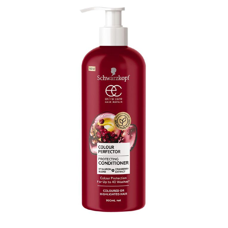 Schwarzkopf Extra Care Colour Perfector Conditioner 950mL, , hi-res