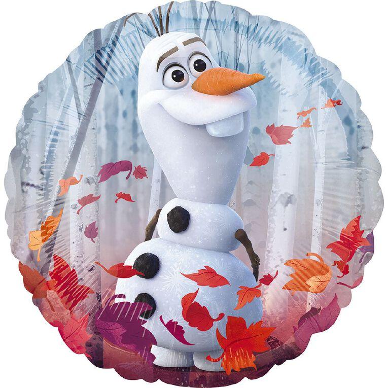 Frozen 2 Satin Foil Balloon Standard 17in, , hi-res