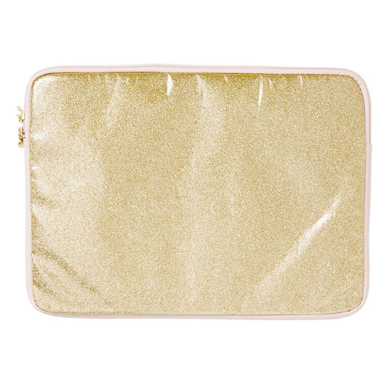 Minnie Mouse Notebook Sleeve 14in Gold, , hi-res