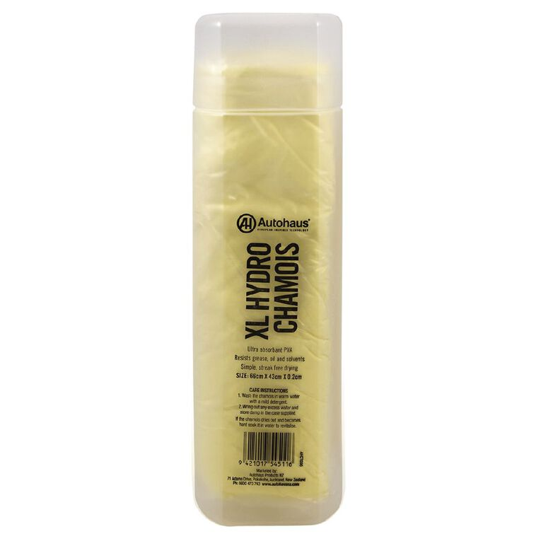 Autohaus Synthetic Hydro Chamois Yellow, , hi-res