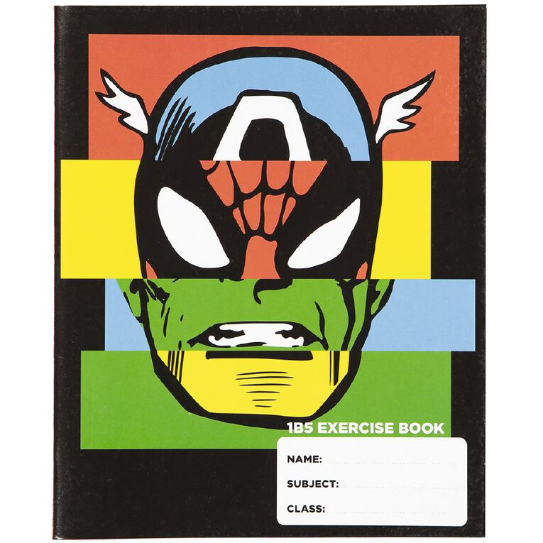 WS Exercise Book Marvel 40 Leaf, , hi-res
