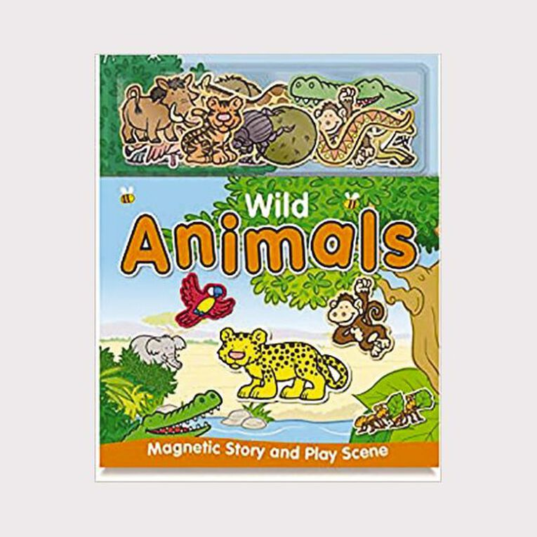Magnetic Wild Animals by Alfie Clover & Erin Ranson, , hi-res