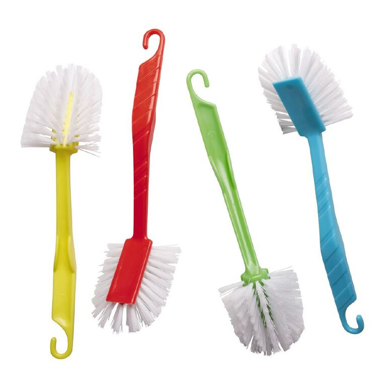 Living & Co Radial Dish Brush Assorted, , hi-res