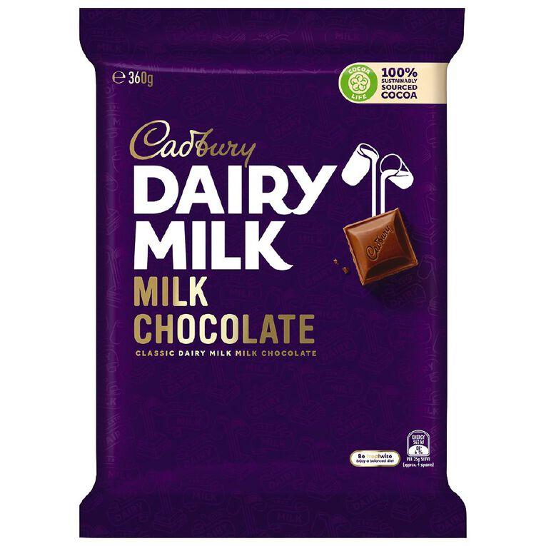 Cadbury Dairy Milk 360g, , hi-res