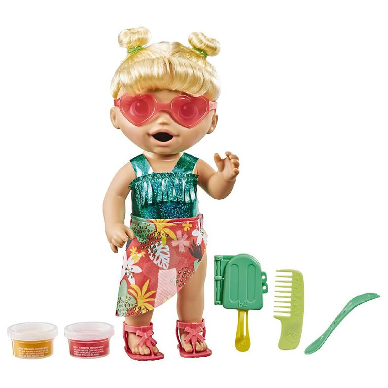 Baby Alive Sunshine Snacks Blonde Hair, , hi-res
