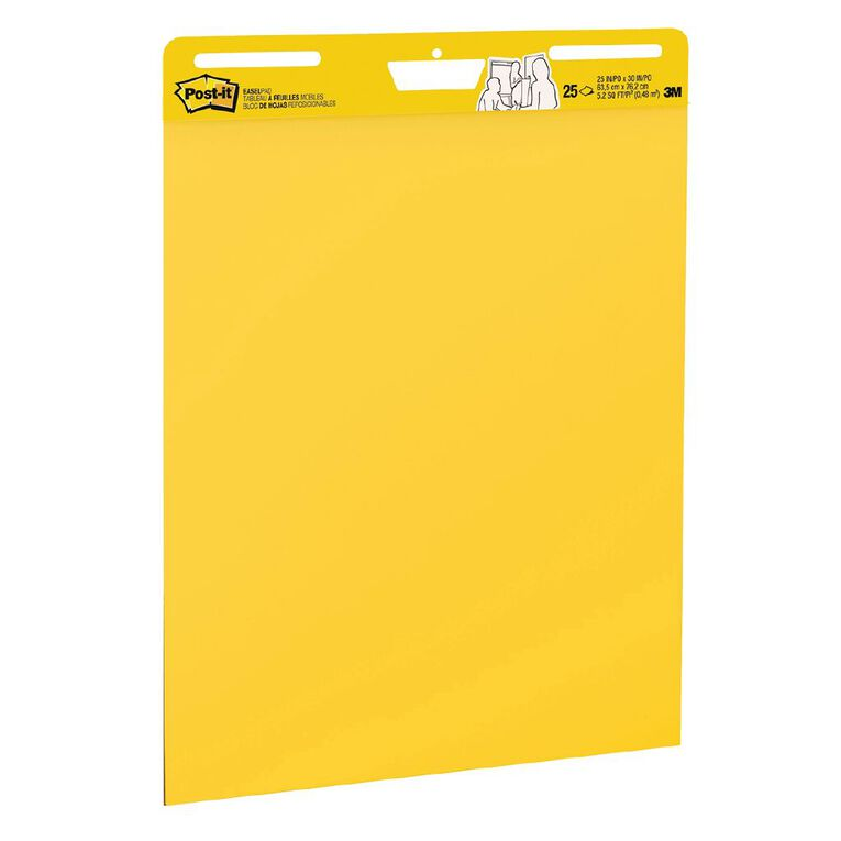 Post-It Yellow Easel Pad 559YW, , hi-res