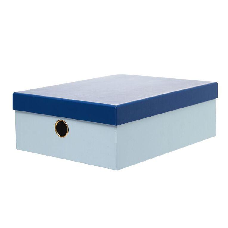 Uniti Geo Storage Box Multi-Coloured A4, , hi-res