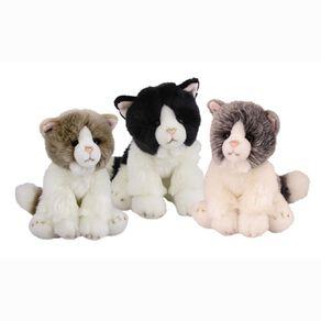Antics Silky Cats Assorted 18cm