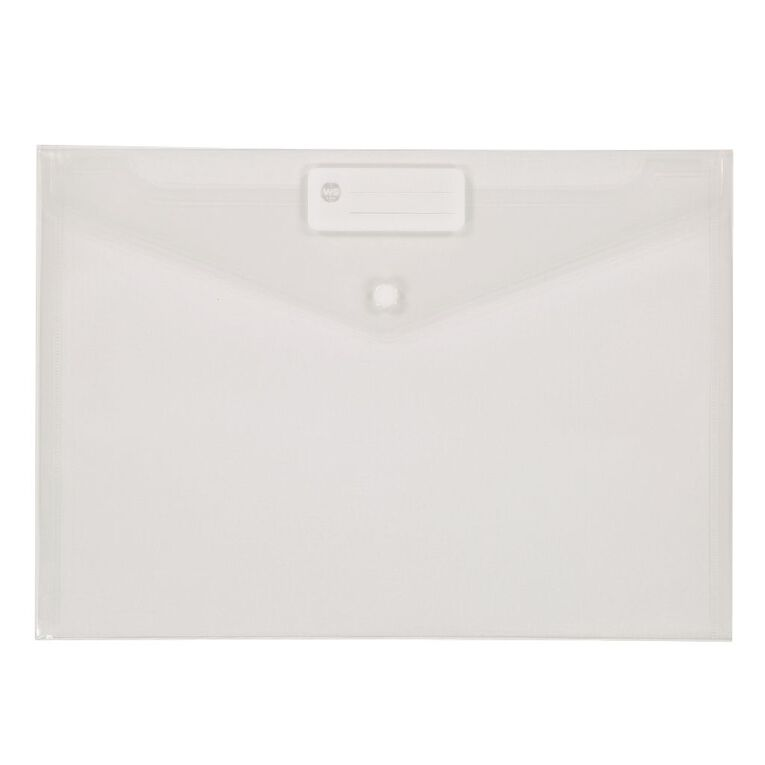 WS Document Envelope Single Dome Clear, , hi-res