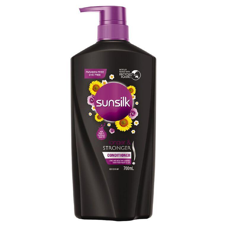 Sunsilk Conditioner Longer & Stronger 700ml, , hi-res