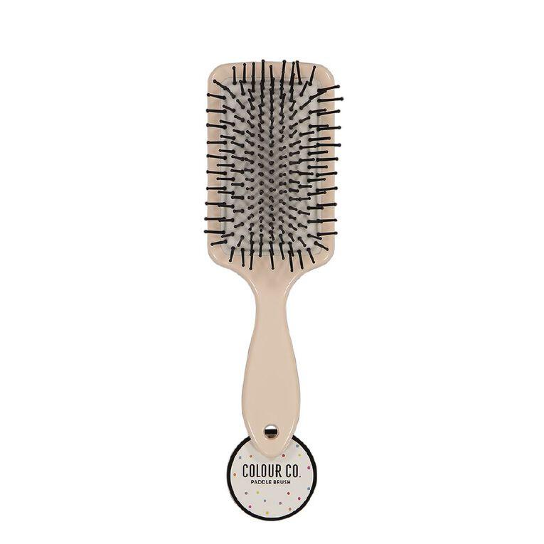 Colour Co. Rectangle Paddle Brush Dots or Leopard, , hi-res