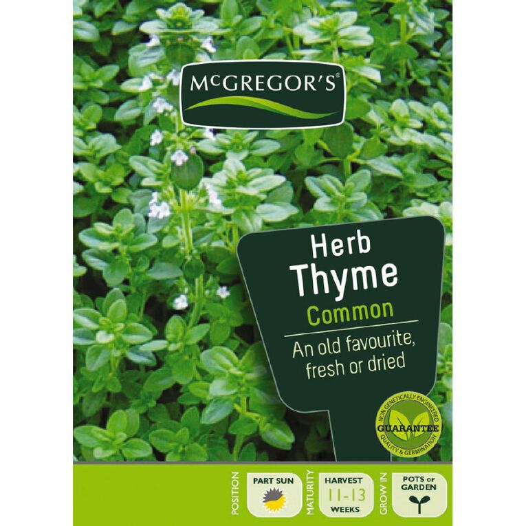 McGregor's Herb Thyme Seed, , hi-res