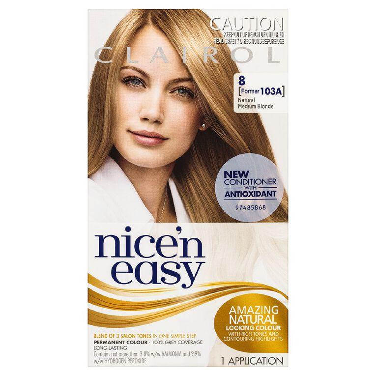 Nice 'n Easy Medium Blonde 8 (former 103A), , hi-res
