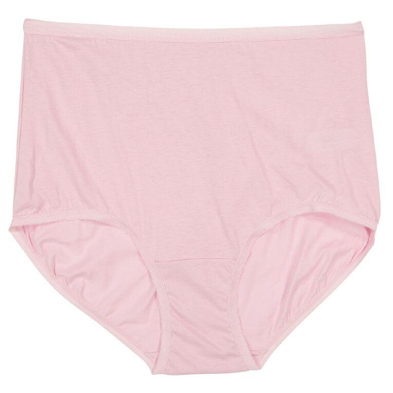 H&H Women's Full Briefs, Pink Light, hi-res