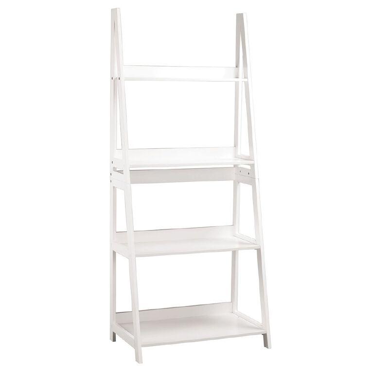 Living & Co Ladder Shelf 4 Tier, , hi-res