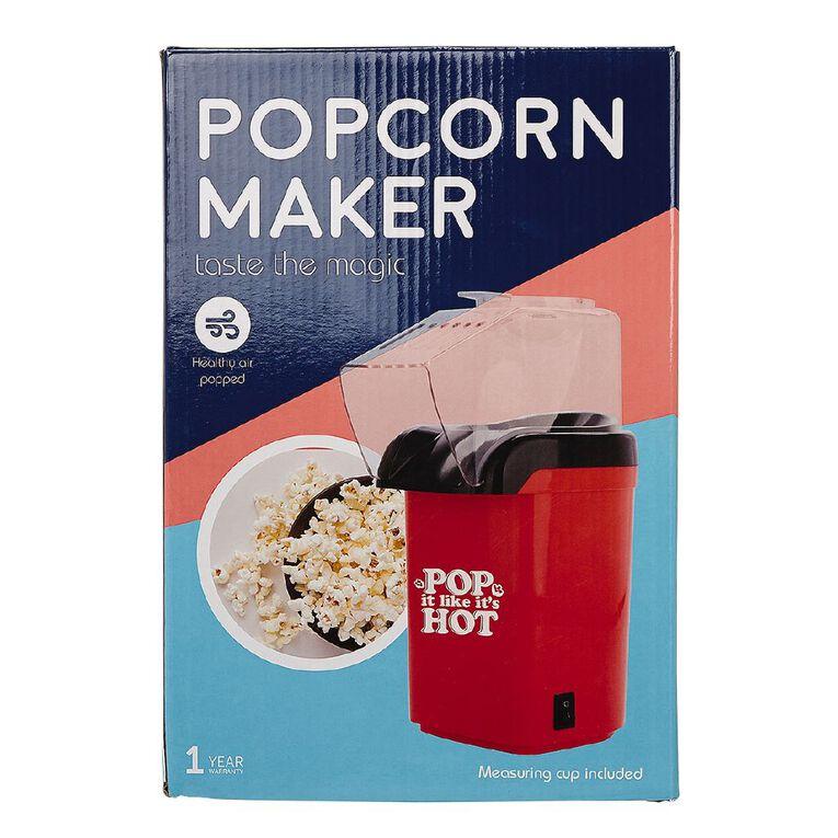 Living & Co Popcorn Maker Red, , hi-res