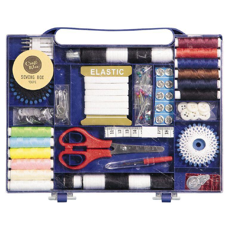 Uniti Sewing Box 196 Piece, , hi-res