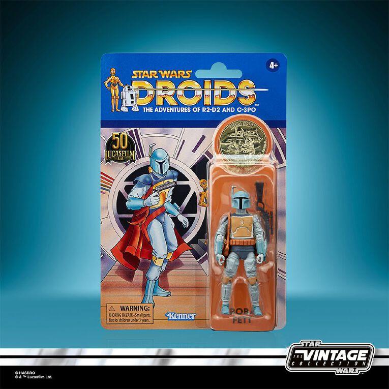 Star Wars Vintage Collection Droids Animation Boba Fett, , hi-res