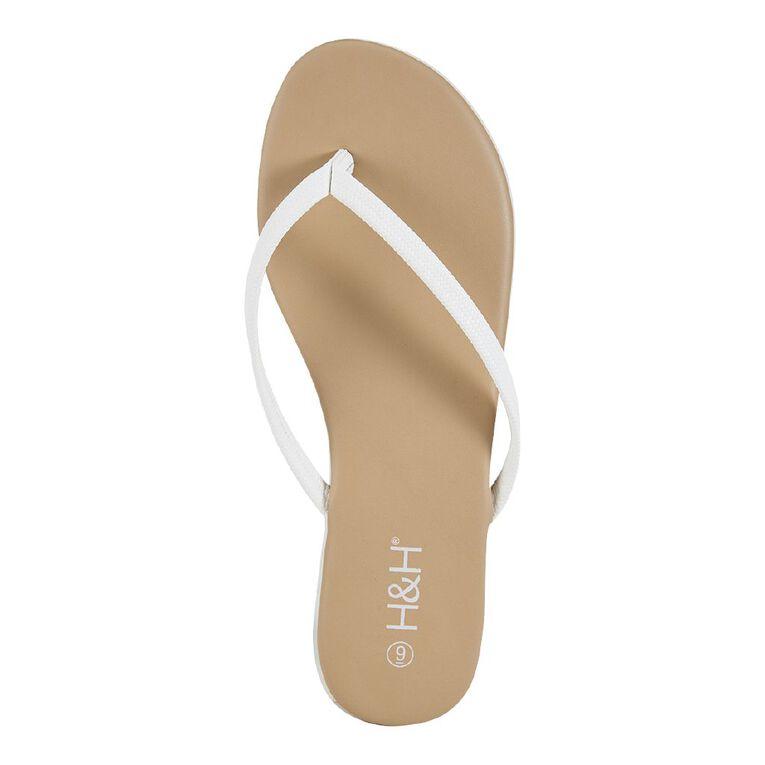 H&H Reims Sandals, White, hi-res image number null