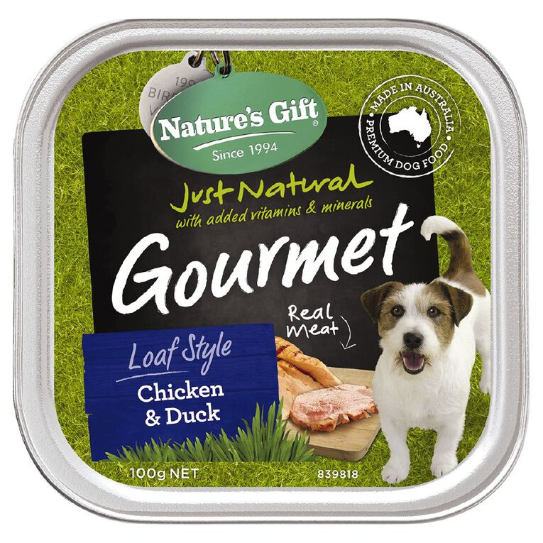 Nature's Gift Gourment Loaf Roast Duck 100g, , hi-res