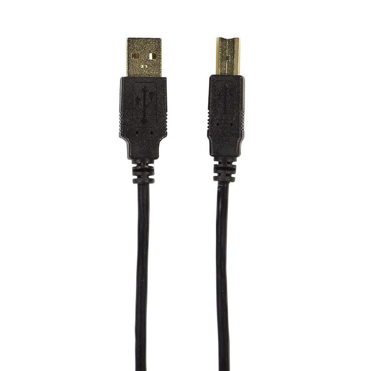 Tech.Inc USB-A to USB-B Printer Cable 2m, , hi-res