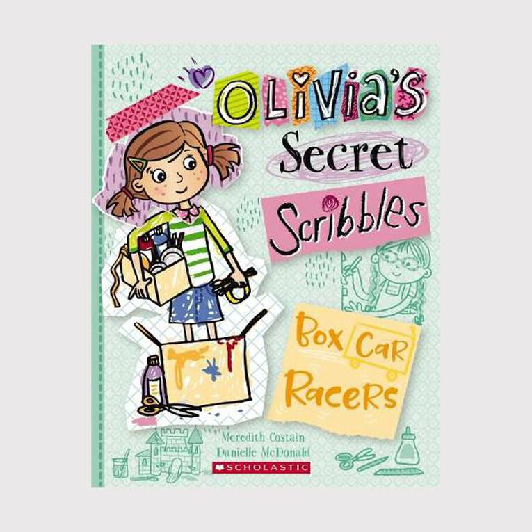 Olivia's Secret Scribbles #6 Box Car Racers by Meredith Costain, , hi-res