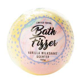 Bath Fizzer Rainbow Vanilla Milkshake Scented 150g