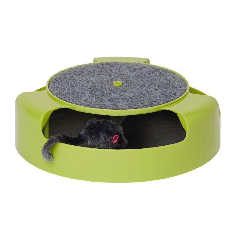 Petzone Spinning Mouse Cat Toy, , hi-res
