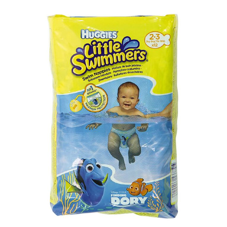 Huggies Swimmers 2-3 Branded Import Spec May Differ to Local Huggies, , hi-res