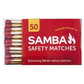 Samba Matches BBQ 98mm