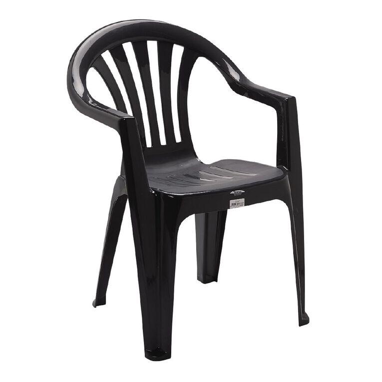 Taurus Kea Resin Chair Charcoal, , hi-res