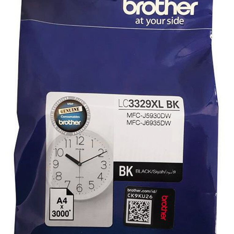 Brother Ink LC3329XLBK Black (3000 Pages), , hi-res