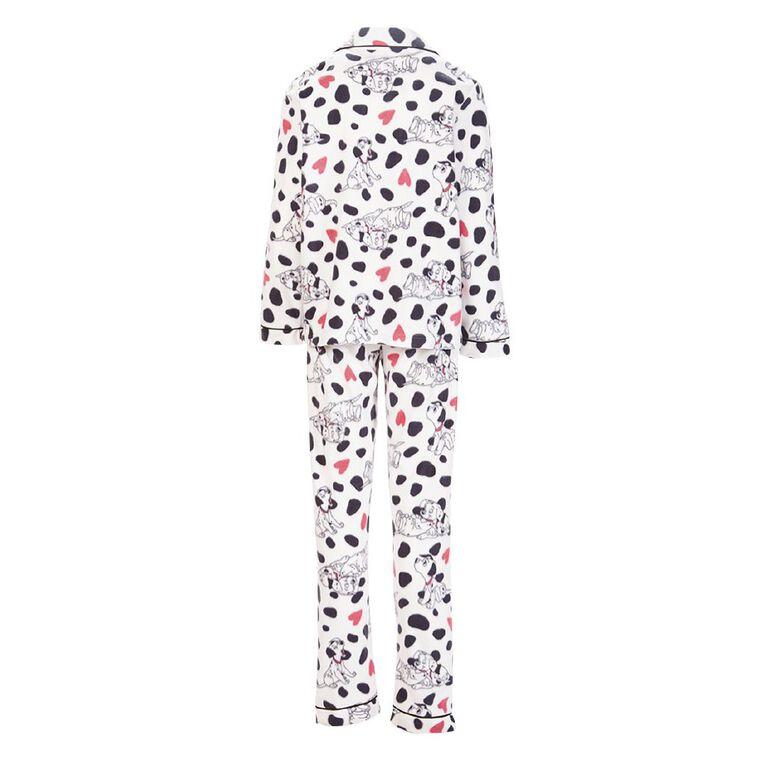 Disney Girls' Fleece Pyjama, White, hi-res