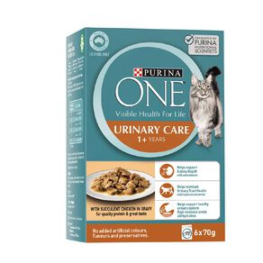 Purina ONE Cat Urinary Care Formula with Chicken MP (6x70g)