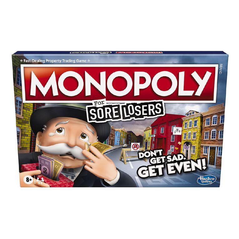 Monopoly Sore Losers Edition, , hi-res