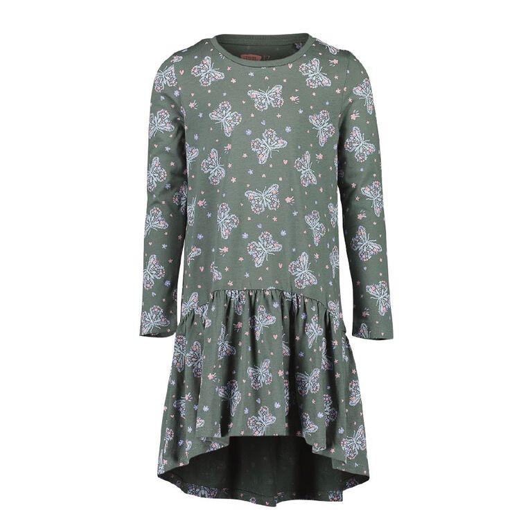 Young Original Milla Print Dress, Blue Mid, hi-res