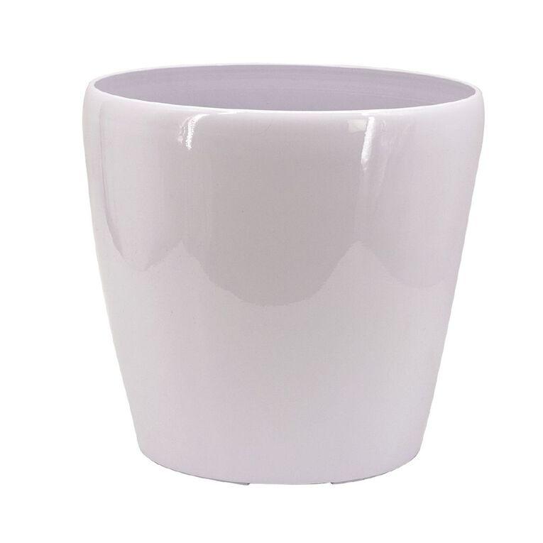 Kiwi Garden Plastic Self Watering Pot White 34cm, , hi-res