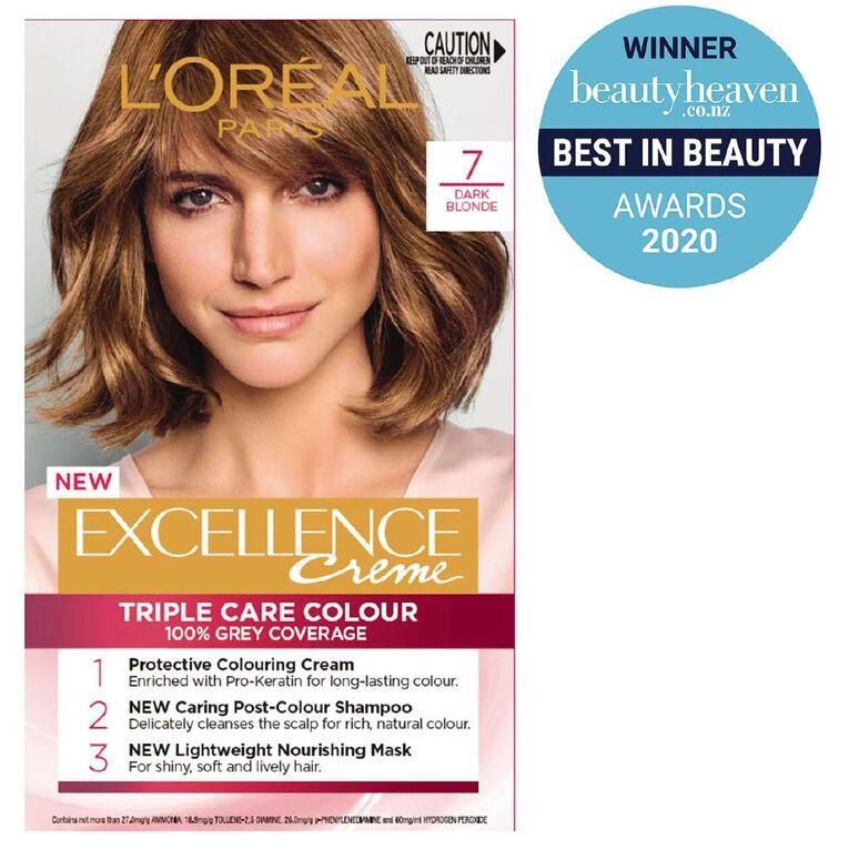 L'Oreal Paris Excellence Creme Dark Blonde 7, , hi-res
