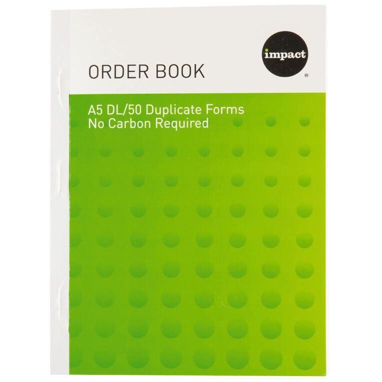 WS Order Book Duplicate Blue A5, , hi-res
