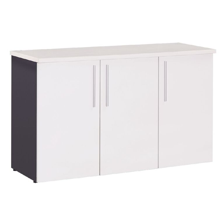 Workspace Office Brand Credenza 1200 White, , hi-res