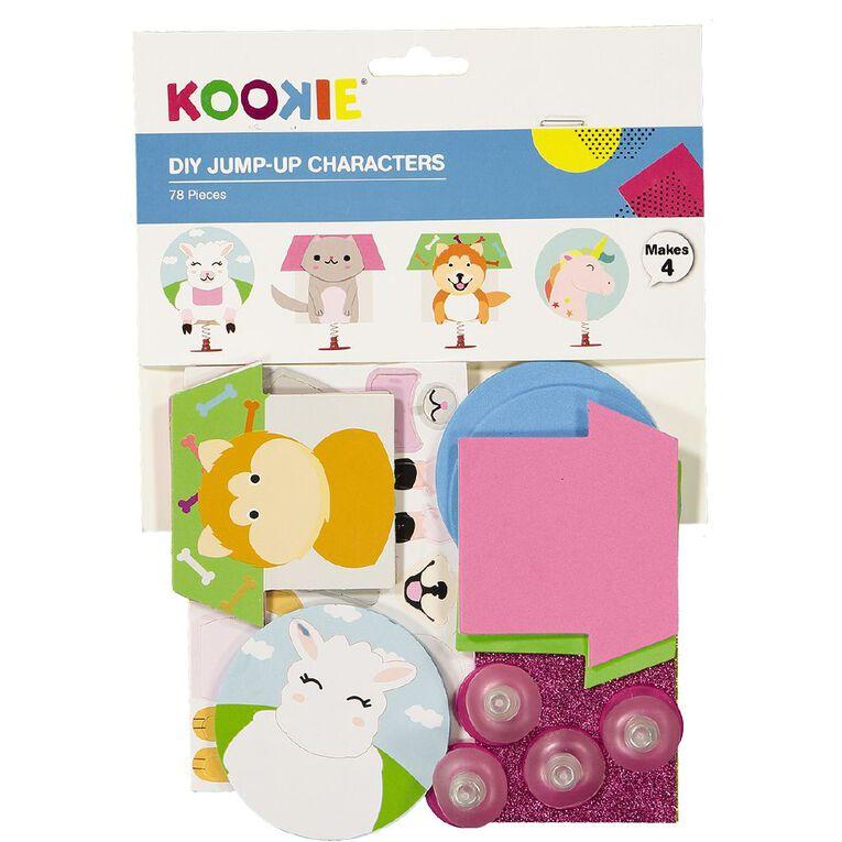 Kookie DIY Jump-Up Characters Kit, , hi-res