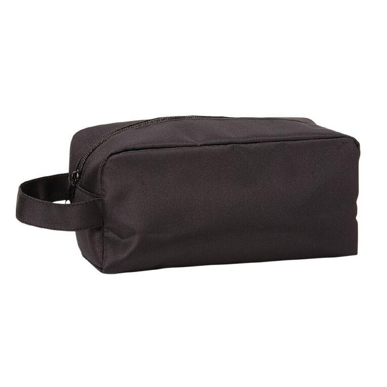 Necessities Brand Toiletry Bag Doctors Bag Black, , hi-res