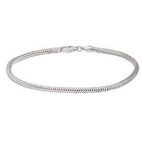 Ane Si Dora Sterling Silver Parrot Clasp Bracelet