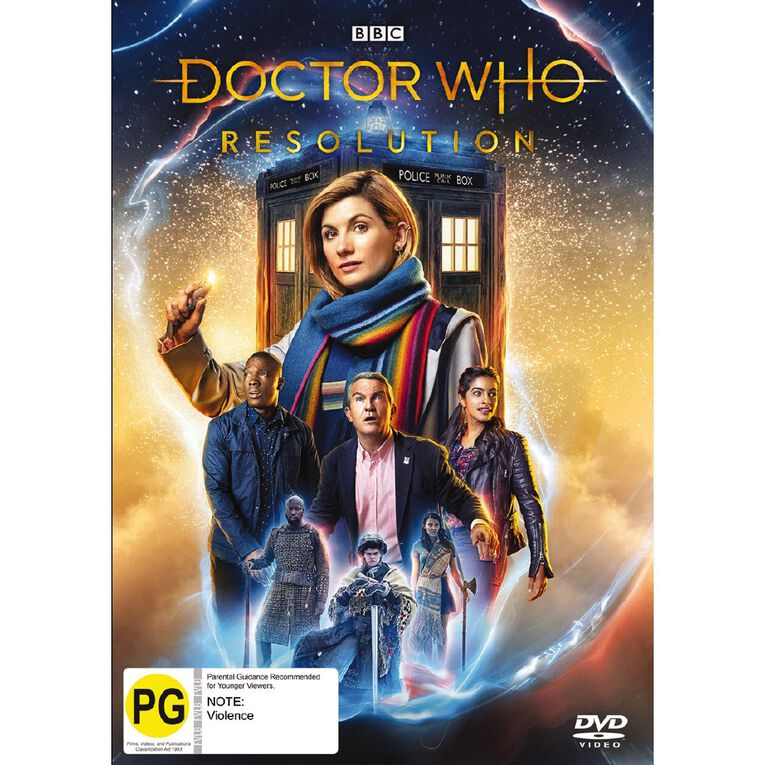 Doctor Who (2018) Resolution Blu-ray 1Disc, , hi-res