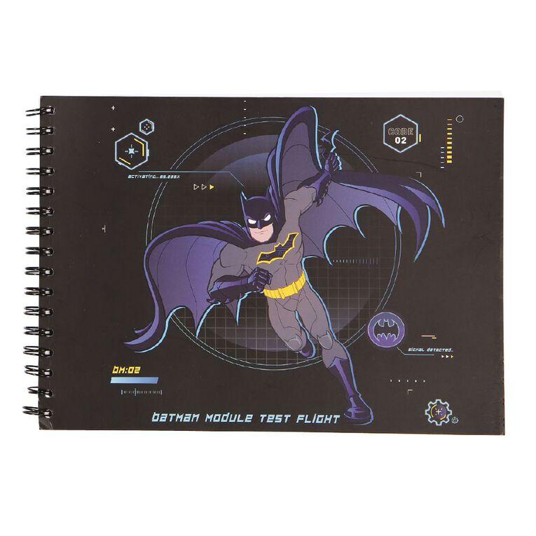 Batman Warner Bros Sketch Pad Blue Dark A4, , hi-res