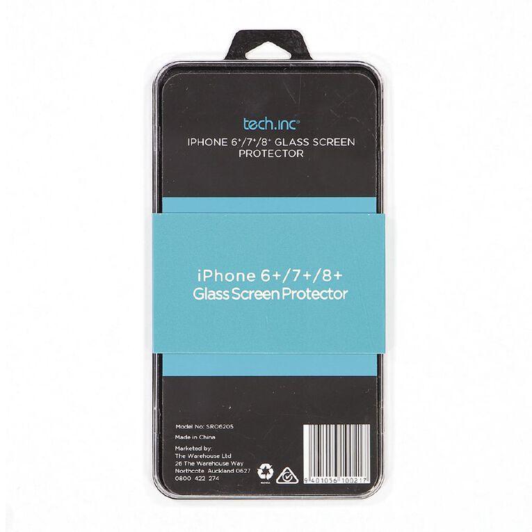 Tech.Inc iPhone 6+/7+/8+ Glass Screen Protector, , hi-res