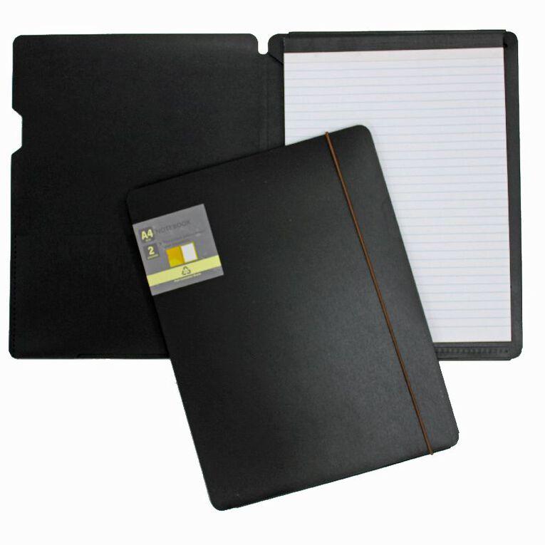 GBP Stationery Eco Notebook Black A4, , hi-res
